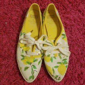 Kate spade kick lemon keds